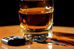 Alcohol and car keys - Lubbock DWI Lawyer